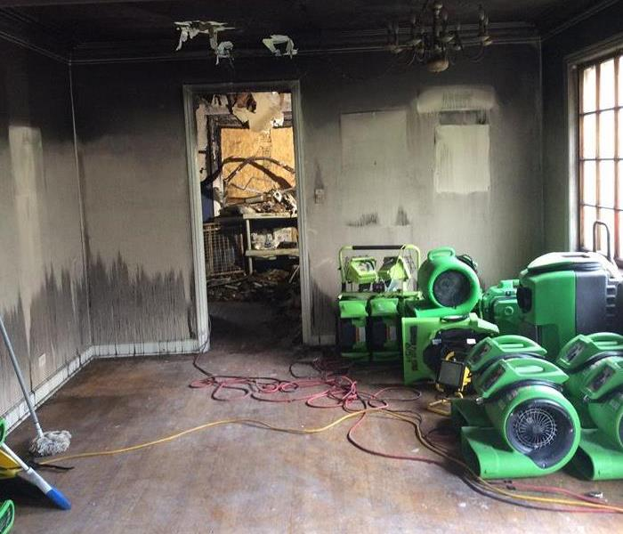How to cleanup after a fire in Park Ridge?  After
