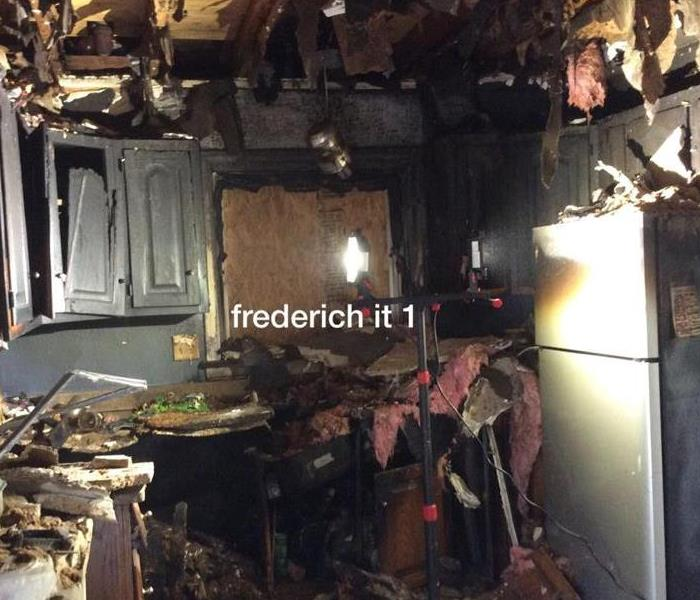 How to cleanup after a fire in Park Ridge?  Before