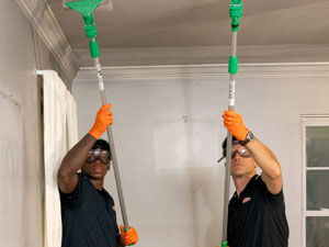 smoke and soot cleanup